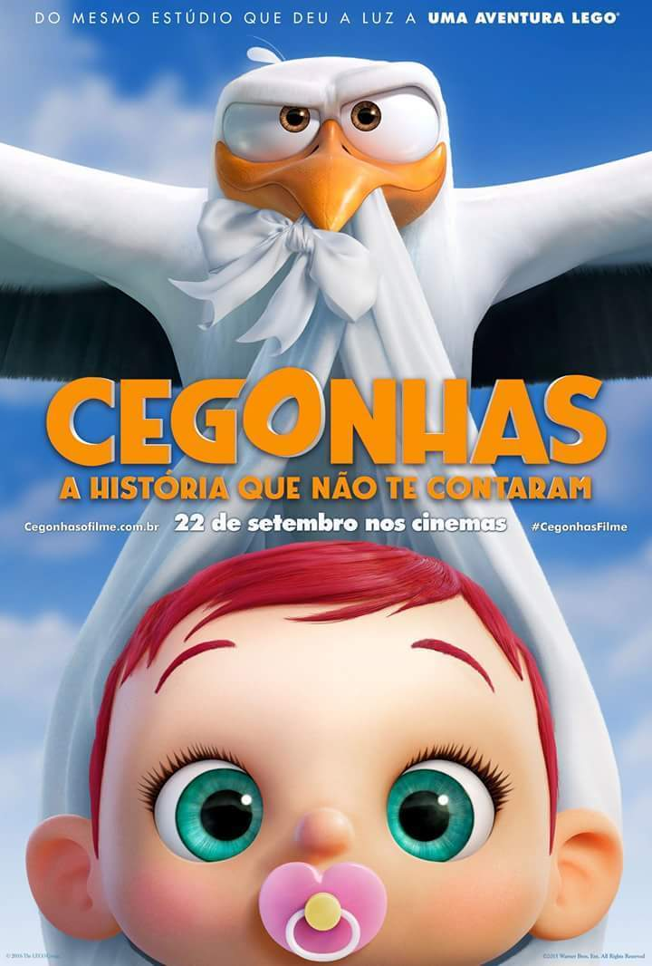 "Poster for the movie ""Cegonhas"""