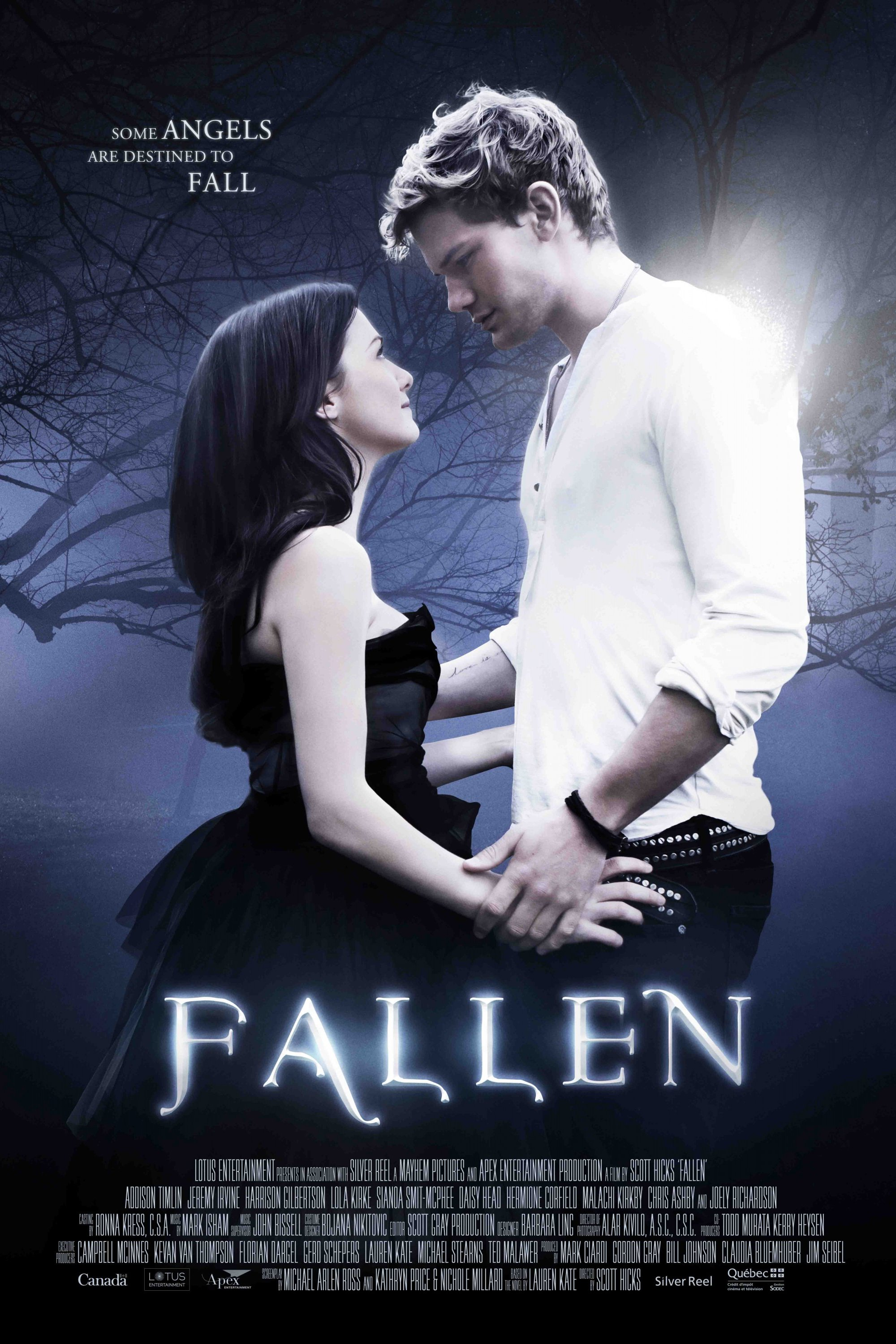 "Poster for the movie ""Fallen"""