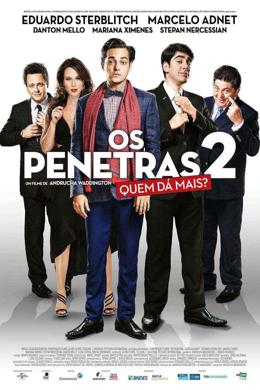 """Poster for the movie """"Os Penetras 2: Quem Dá Mais?"""""""