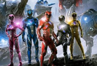 "Poster for the movie ""Power Rangers - O filme"""