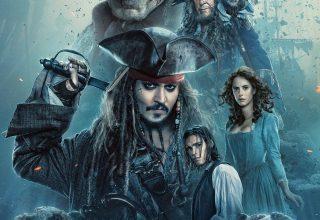 """Poster for the movie """"Piratas do Caraíbas - Os Mortos Não Contam Histórias"""""""