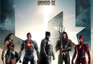 "Poster for the movie ""Liga da Justiça: Parte 1"""