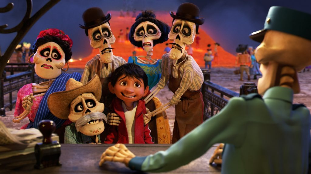 """Image from the movie """"Coco"""""""