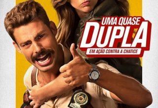 """Poster for the movie """"Uma Quase Dupla"""""""