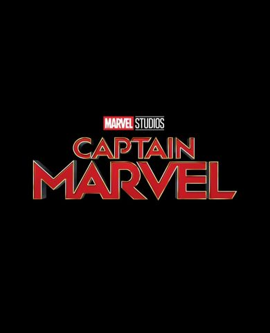 """Poster for the movie """"Capitã Marvel"""""""
