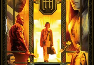 "Poster for the movie ""Hotel Artemis"""