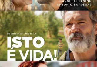 "Poster for the movie ""Isto é Vida!"""