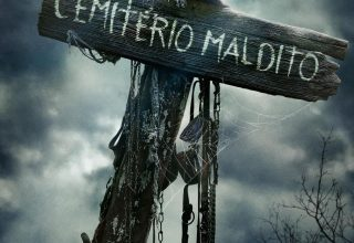 "Poster for the movie ""Cemitério Vivo"""