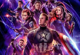 "Poster for the movie ""Vingadores: Endgame"""