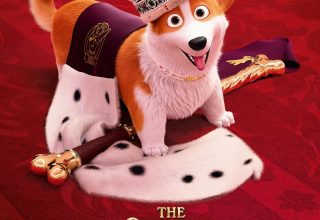 "Poster for the movie ""The Queen's Corgi"""