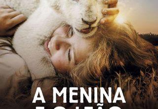 """Poster for the movie """"Mia e o Leão Branco"""""""