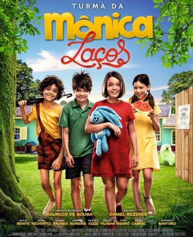 "Poster for the movie ""Turma da Mônica: Laços"""