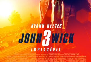 "Poster for the movie ""John Wick 3 - Implacável"""
