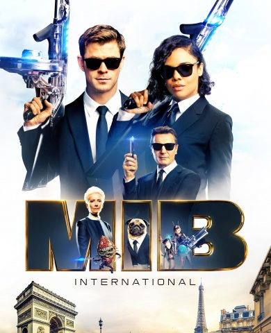 "Poster for the movie ""MIB: Homens de Preto - Internacional"""