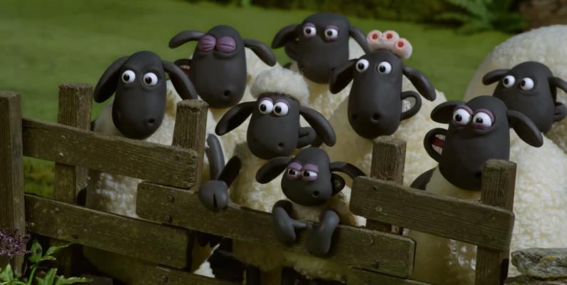 Shaun O Carneiro Farmageddon Sequencia Da Animacao De 2015