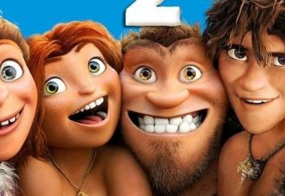 "Poster for the movie ""Os Croods 2"""