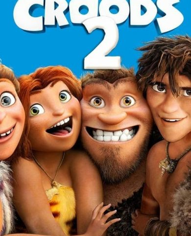 """Poster for the movie """"Os Croods 2"""""""