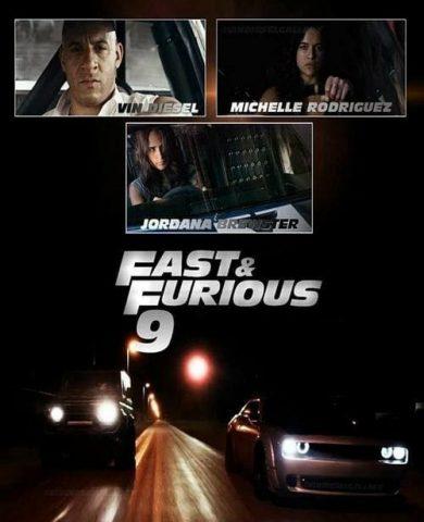 "Poster for the movie ""Velocidade Furiosa 9"""