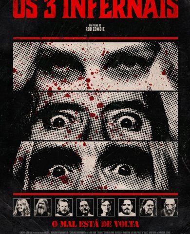"Poster for the movie ""Os 3 Infernais"""